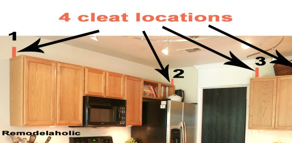 Cleat locations copy