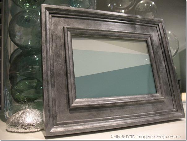 DTTD Imagine Design Create zinc frame