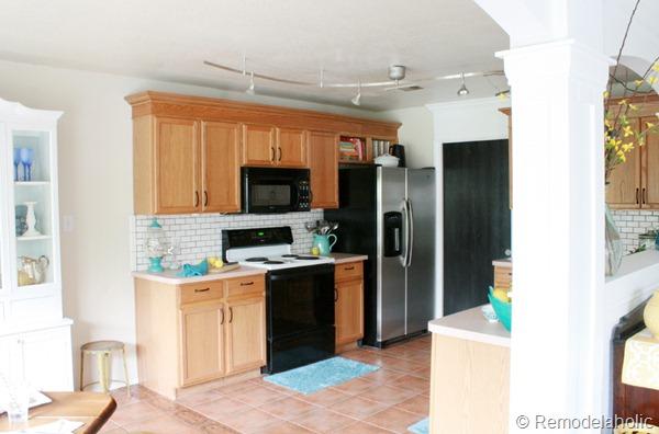 ideas to update oak kitchen cabinets & Great Ideas to update Oak Kitchen Cabinets
