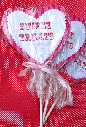 Heart Sucker Valenitne packaging