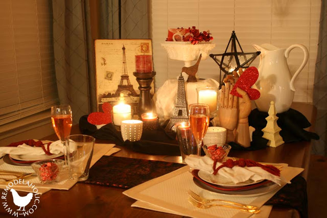 Remodelaholic Hot Date Table Setting