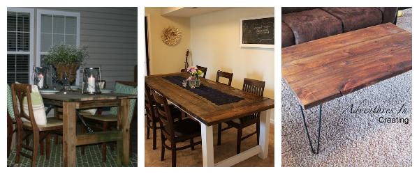 Remodelaholic Table Collage