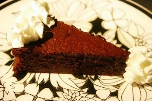 Remodelaholic flourless chocolate cake