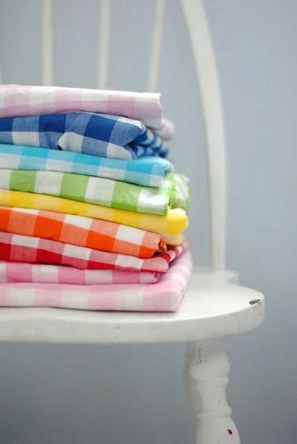 A Pretty Cool Life rainbow gingham