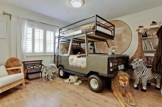 Boys Jungle theme adventure  room