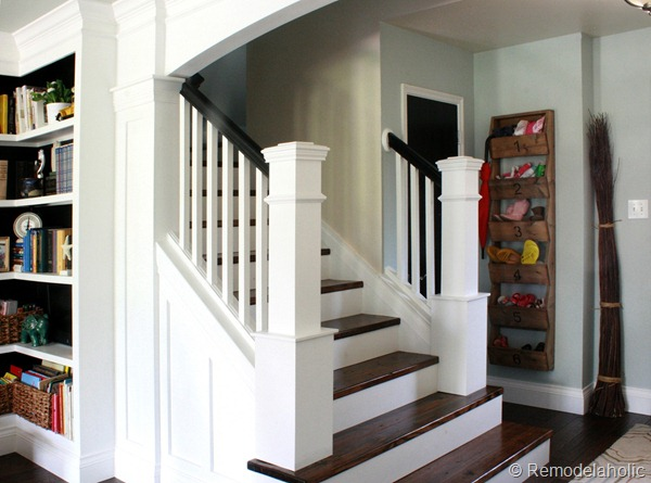 DIY stair Remodel, removing carpet and new newel posts