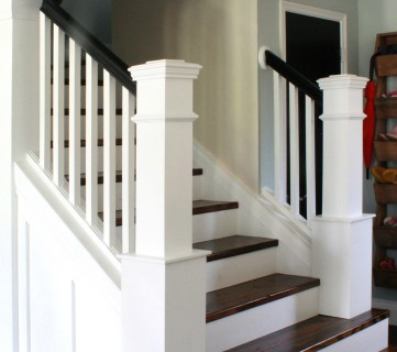 Entry and Staircase Makeover Reveal