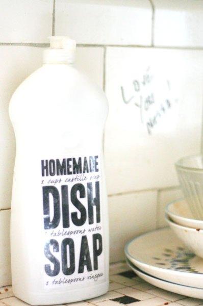 Homemade Dishsoap Tried and True