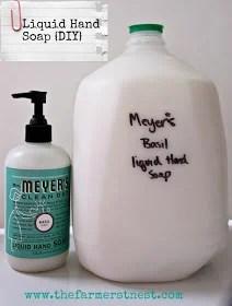 Liquid Hand Soap The Farmer's Nest