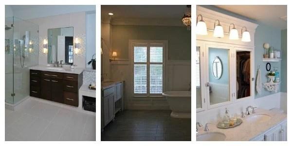 Remodelaholic bathroom collage