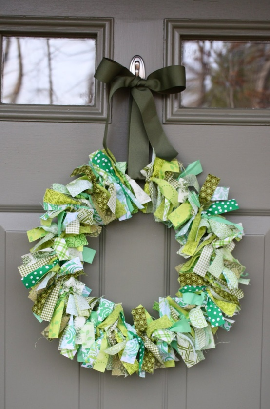 St. Patrick's Day door Wreath, The Magic of Ordinary