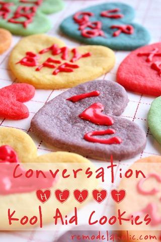 Valentine Converstaion Heart Cookies Koolaid Cookies Recipe (6a)