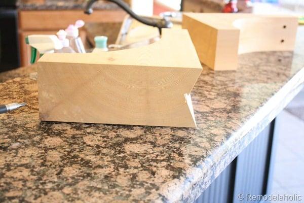 black board and batten kitchen island makeover-13