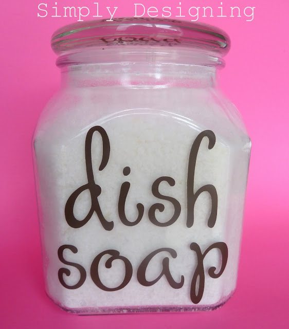dish soap simply designing