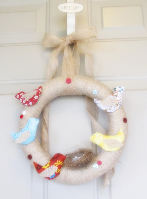 A House in Holland birdy wreath