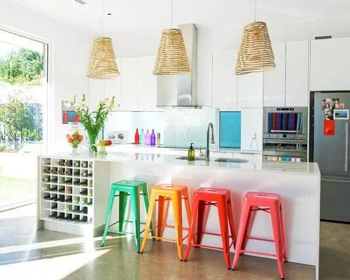 BH&G rainbow kitchen