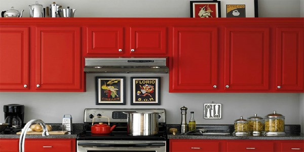 Calfinder Red Kitchen