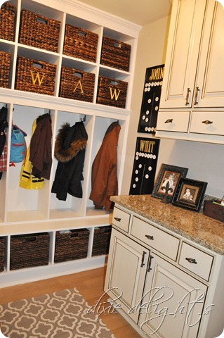 Dixie Delights mudroom