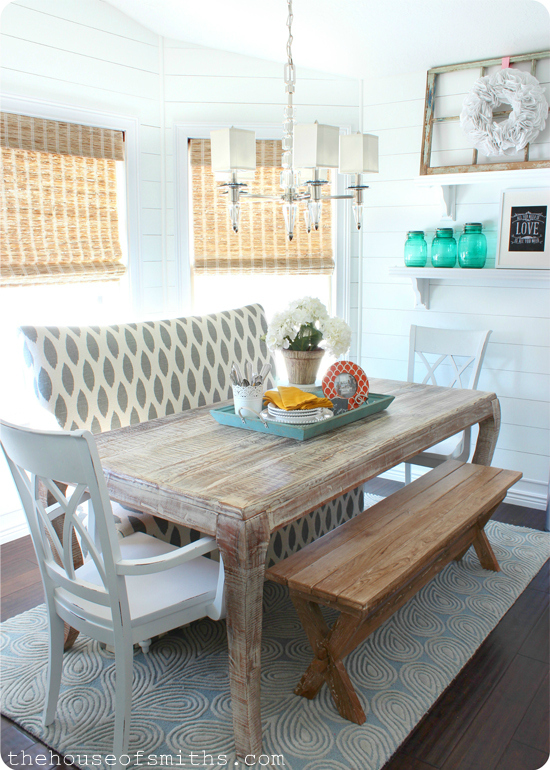 House of Smiths banquette seating