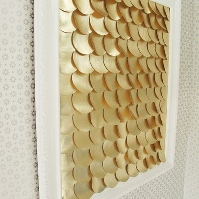 Houzz fish scale wall art