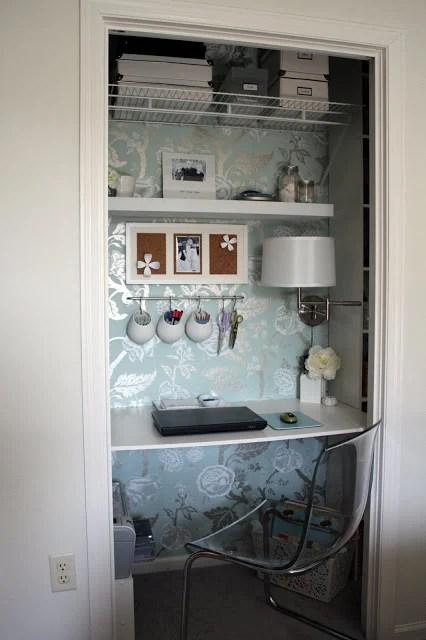 I Heart Organizing office closet