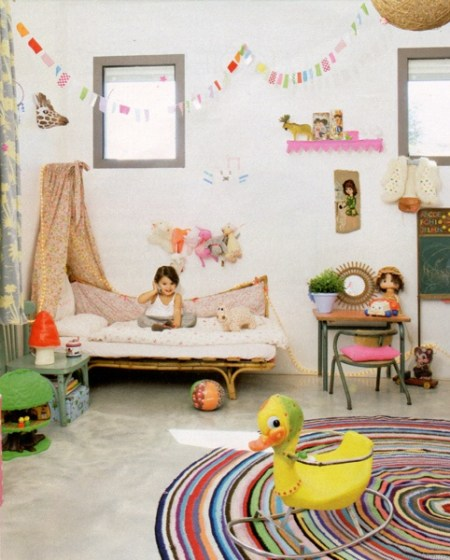 Kids colorful bedroom