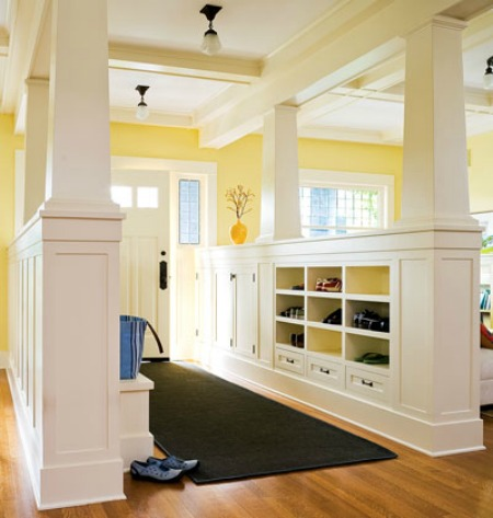 My Home Ideas craftsman foyer