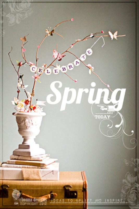 Rhonna Designs spring branches