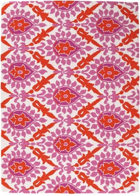 Sis-Boom-by-Jennifer-Paganelli-Back-Bay-Pink-and-Orange-Hook-Rug