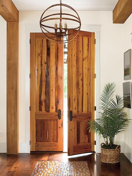 Southern Living rustic doors