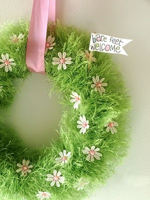 The Creative Place grass wreath