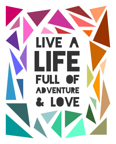live life inspirational post