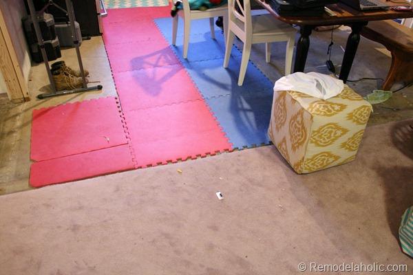 My New Living Room Flooring
