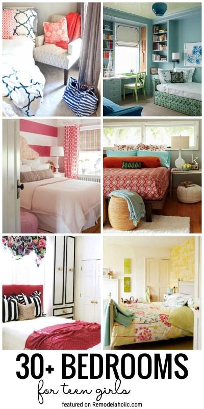 Remodelaholic   30+ Bedrooms for Teen Girls on Teenager:_L_Breseofm= Bedroom Ideas  id=83561