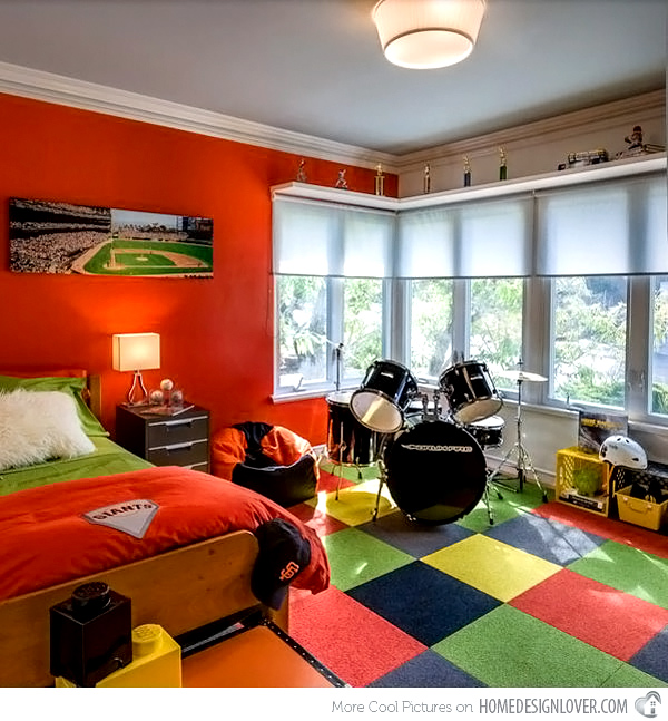 Home Design Lover colorful eclectic room