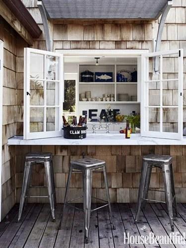 House Beautiful outdoor bar