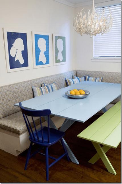 Martha Stewart Dreamers picnic banquette