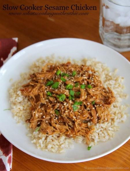 Slow Cooker Sesame Chicken Recipe