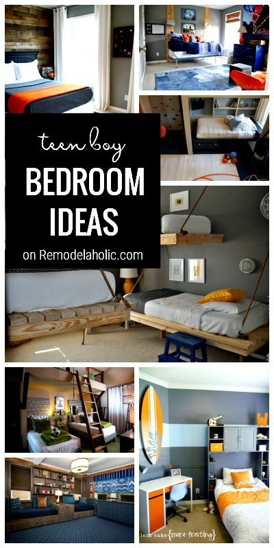 Teen Boys Bedroom Ideas, From Remodelaholic