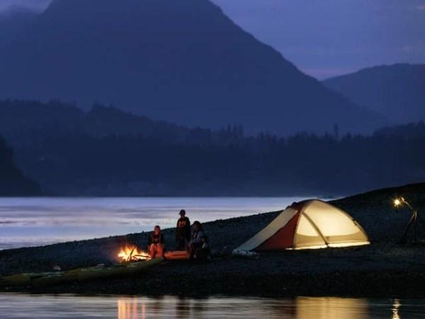 Kodiak camping scenery