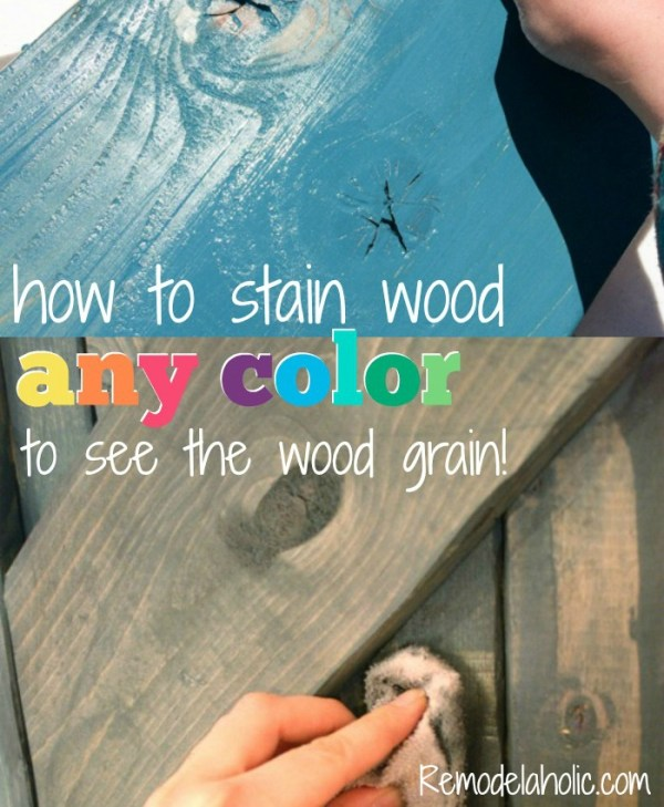 How To Make Homemade Diy Wood Stain Obsigen