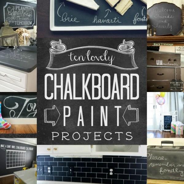 Top 10 Chalkboard Paint Ideas