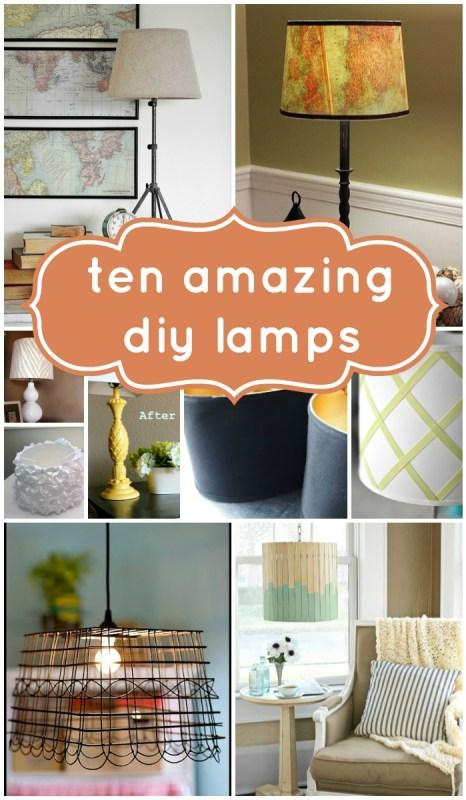 ten amazing diy lamps