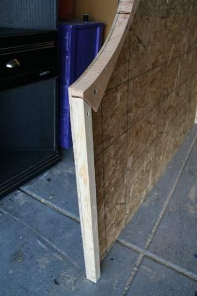 build a tufted headboard frame