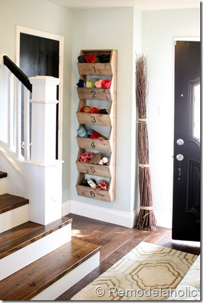 wall mount storage bins for family home ogranization ideas