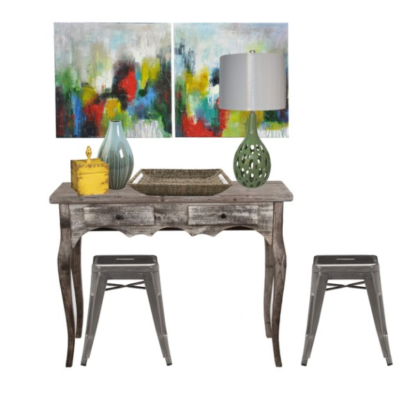 Decorating a Buffet images