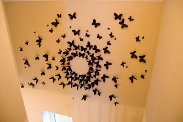 butterfly paper art tutorial