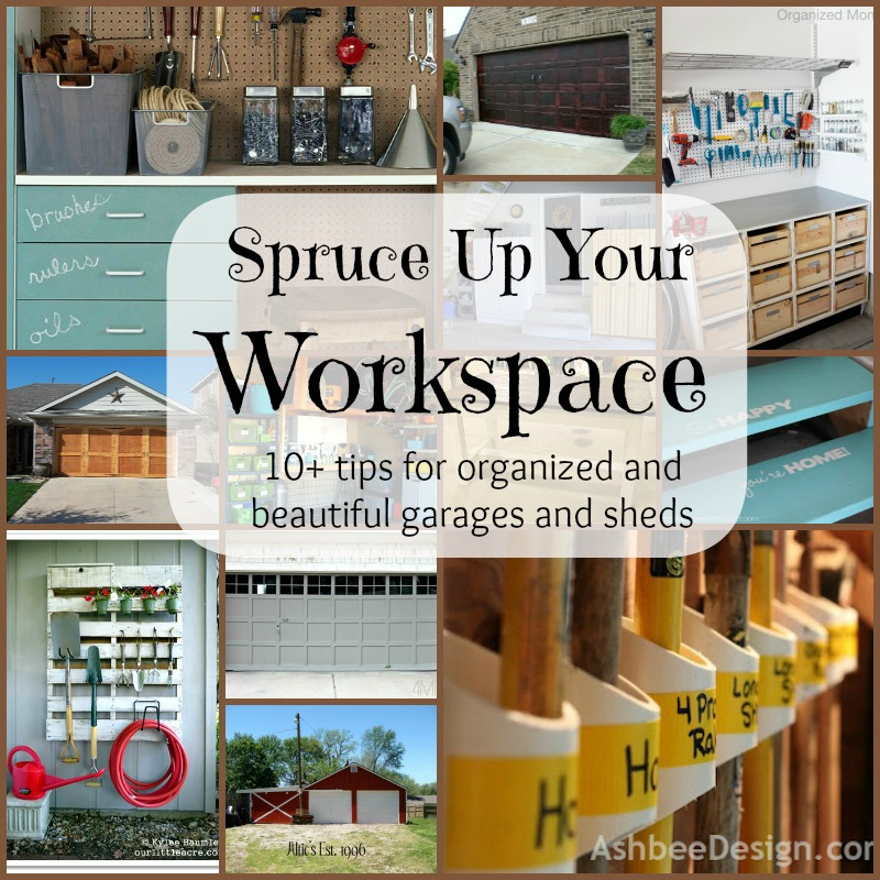Top Ten Pretty And Organized Garages And Sheds