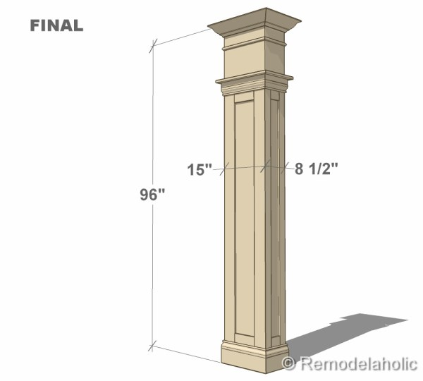 final column plan