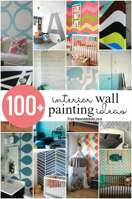100+ Wall Painting Ideas @remodelaholic #painting #walls #design  #inspiration
